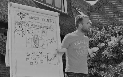 Wil je ook zakelijk leren tekenen (met je team)?