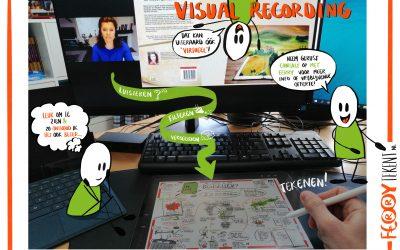 Visual Recording: heel geschikt voor online bijeenkomsten!