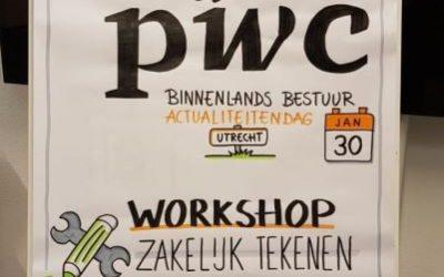 Workshop zakelijk tekenen bij PwC